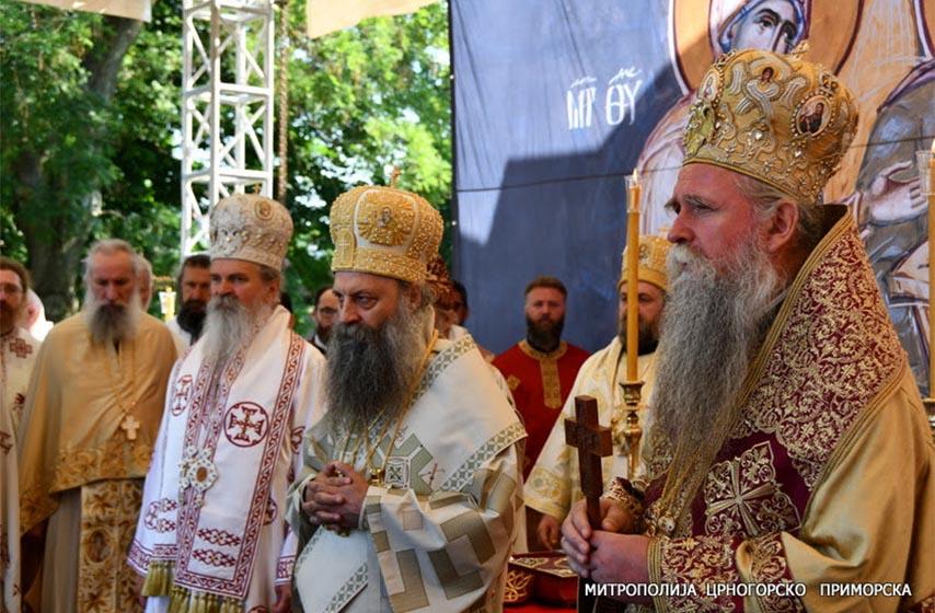 patrijarh porfirije, hram hristovog vaskrsenja podgorica