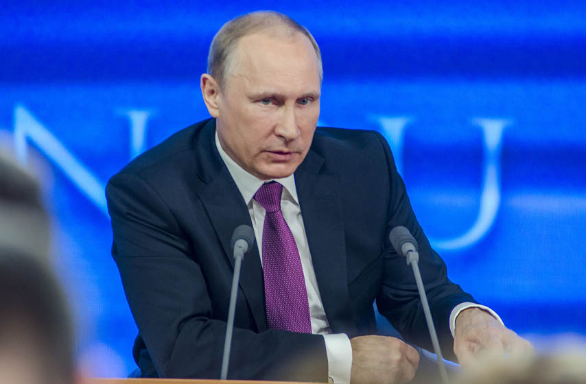 vladimir putin, predsednik rusije