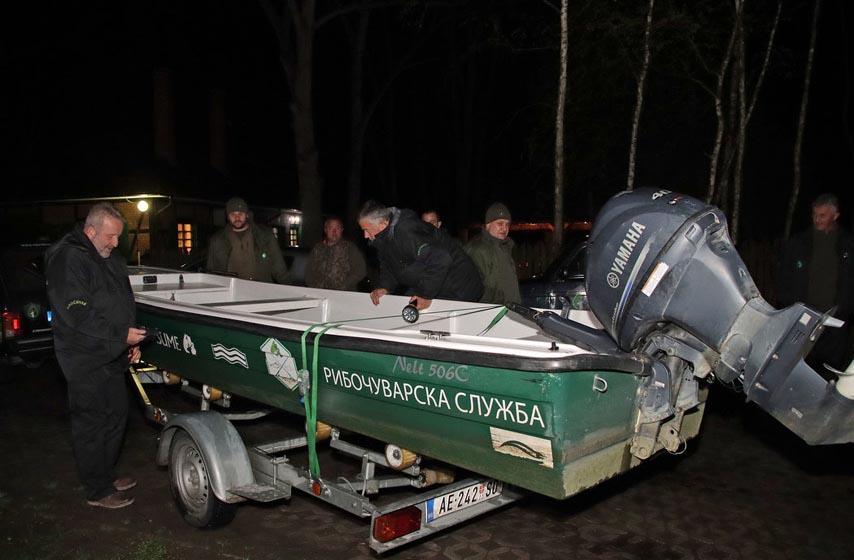 kontrole ribarskih podrucja, ribocuvari, vojvodina sume