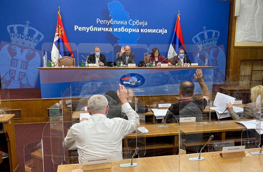 RIK, Republička izborna komisija, glasanje, biračka mesta, ponavlja se glasanje