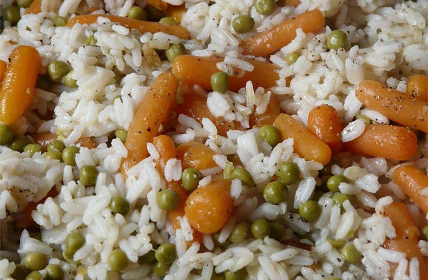 rizoto sa povrcem, pirinac sa povrcem, recept, recepti