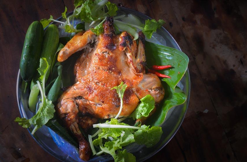 piletina, pečena piletina, recept