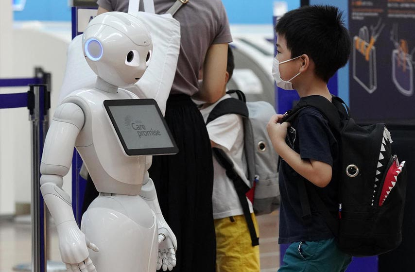 roboti pomazu autisticnoj deci, deca sa autizmom, autisticna deca