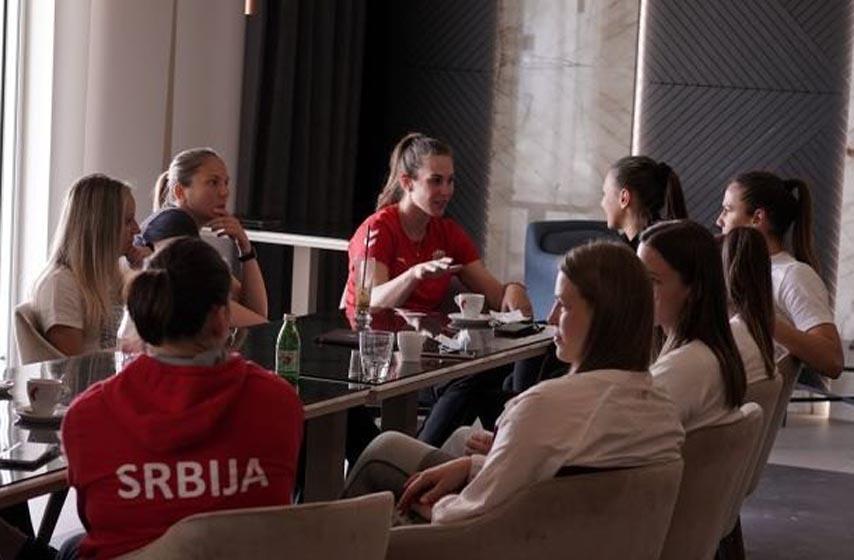 ženska rukometna reprezentacija, rukometašice srbije