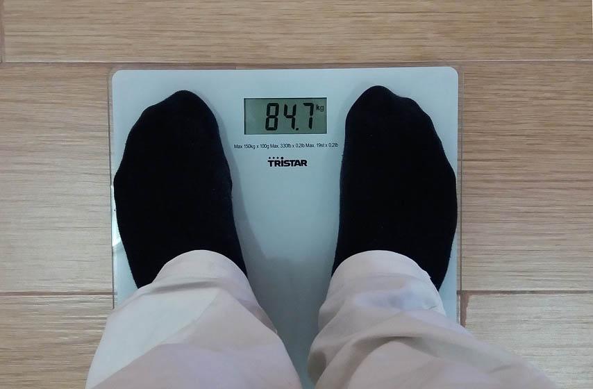 dnevno variranje tezine, gubitak kilograma