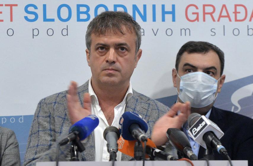 Sergej Trifunović, PSG, politka, izbori