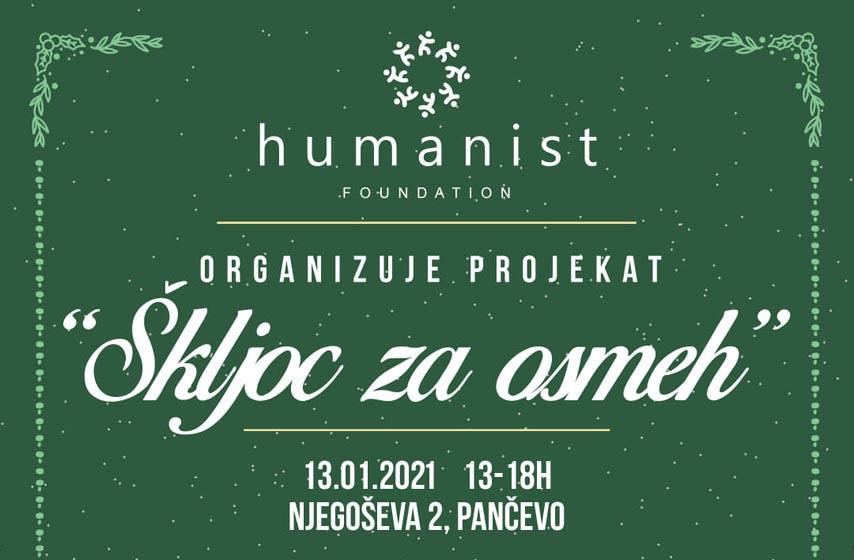 fondacija humanist, skljoc za osmeh, humanitarna akcija