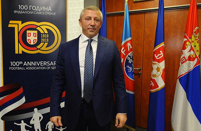 priveden slavisa kokeza, slavisa kokeza, fudbalski savez srbije