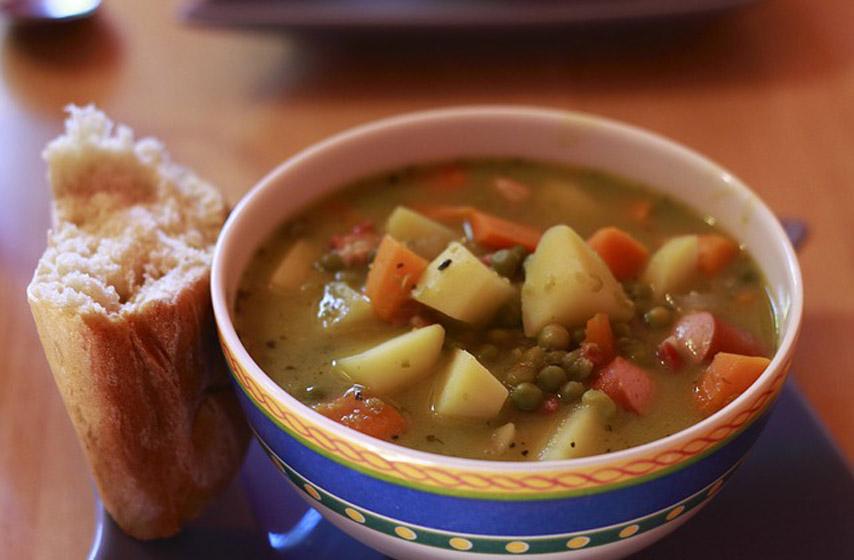 recepti, recept, meksička supa, povrće