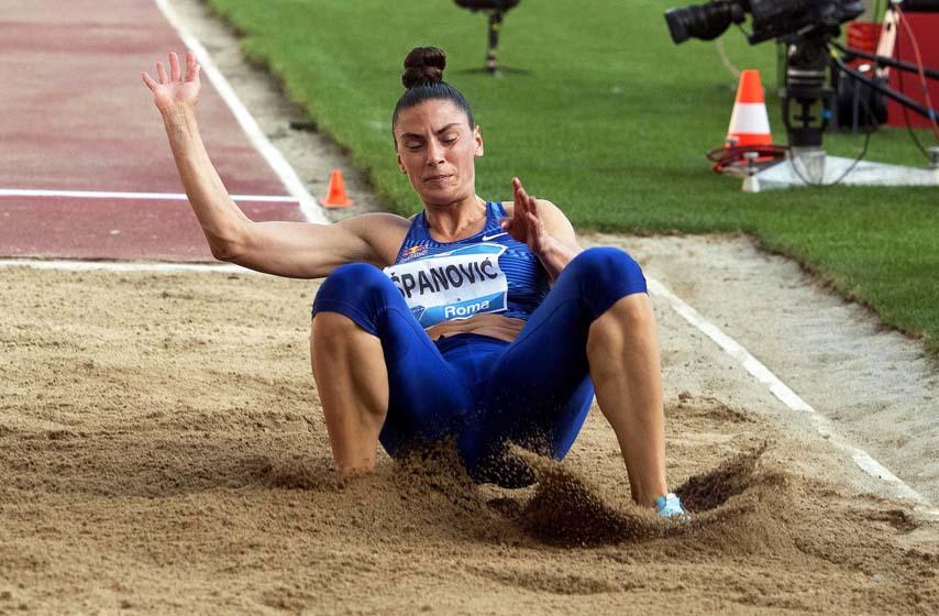 atletika, sport, ivana spanovic