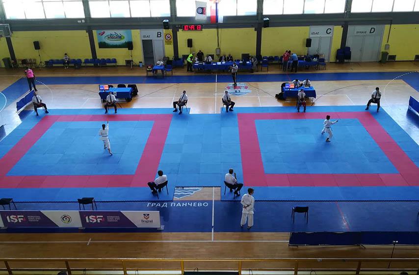 skolske sportske igre karate, pancevo
