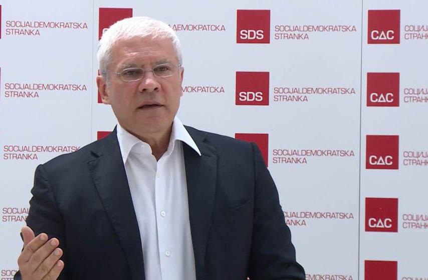 boris tadic, pregovori o izbornim uslovima