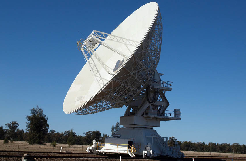 radio teleskop, signal iz svemira