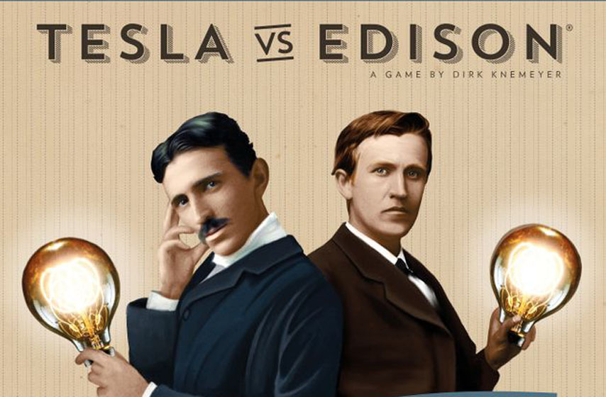 Tesla vs. Edison - War of currens, drustvene igre