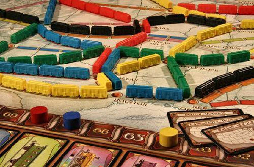 Ticket to ride game, igra Ticket to ride, društvena igra