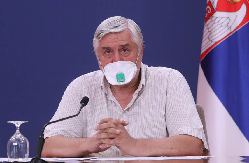 Branislav Tiodorović, Tiodorović, krizni štab, koronavirus, početak školske godine