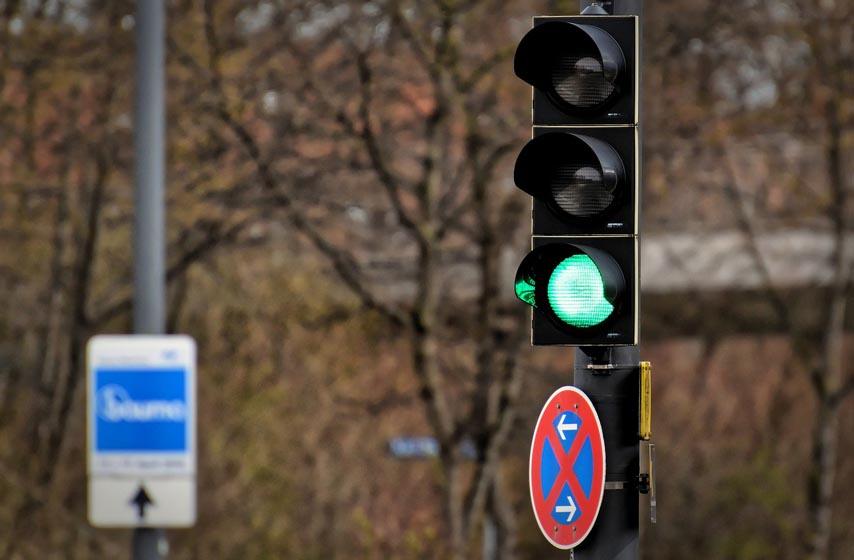 boje na semaforu, semafor