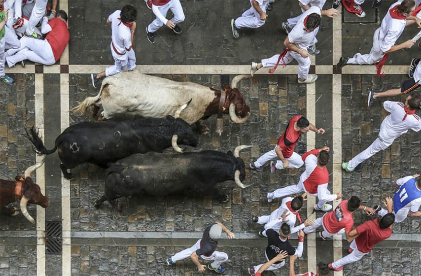 trka s bikovima spanija
