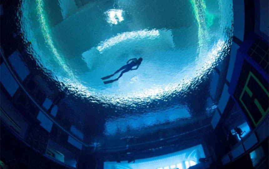 najdublji bazen na svetu dubai