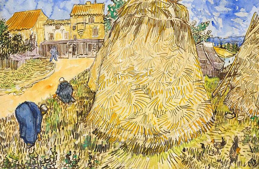 slika van goga, aukcija slika