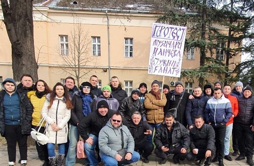 protest muzicara srbije u beogradu