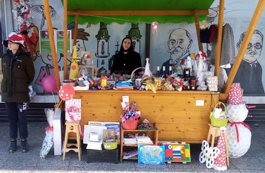 humanitarni bazar pančevo, jasmina petrović, ana iris filipovski, oliver pal gajodi