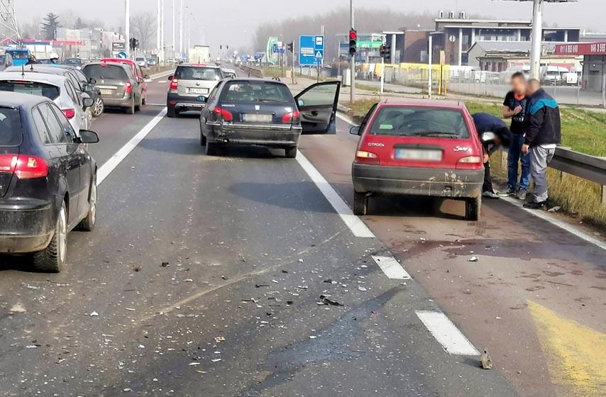 saobracajna nesreca, pancevacki put, k-013 reporteri
