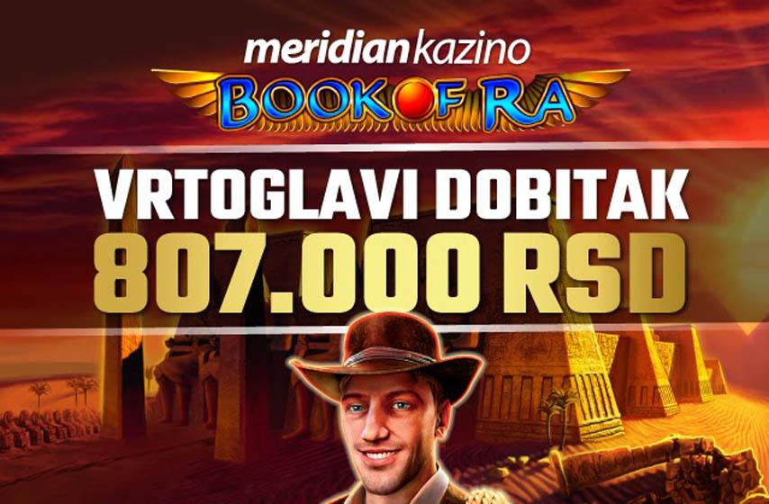 meridian, meridianbet, meridian kladionica, book of ra slot, slot igra, kazino, kladionica, meridian kazino, meridian kladionica, pr tekst, najnovije vesti