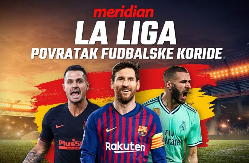 meridian, Španija, fudbal, liga, 500 dinara, meridian kladionica