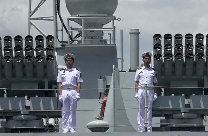 kineska mornarica, ratni brod