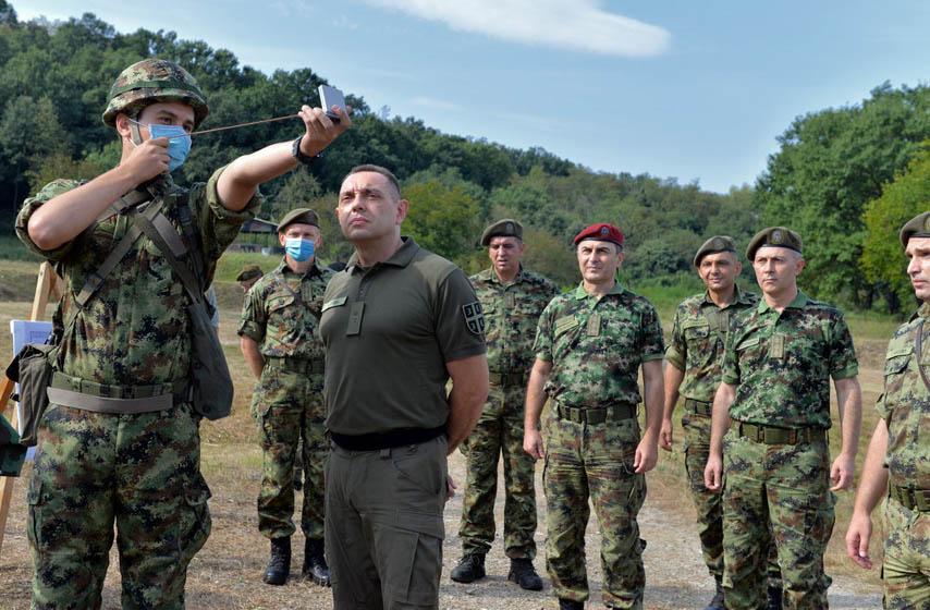 vojska srbije, aleksandar vulin, vulin
