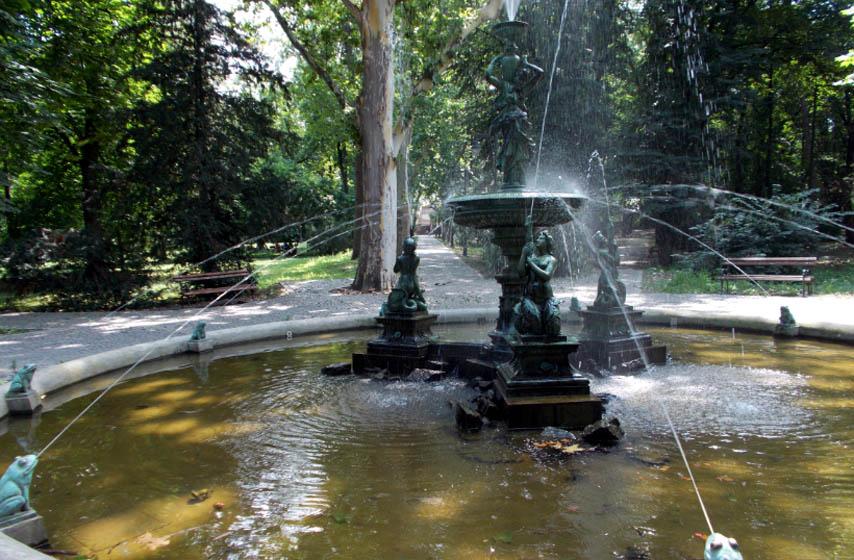gradski park vrsac