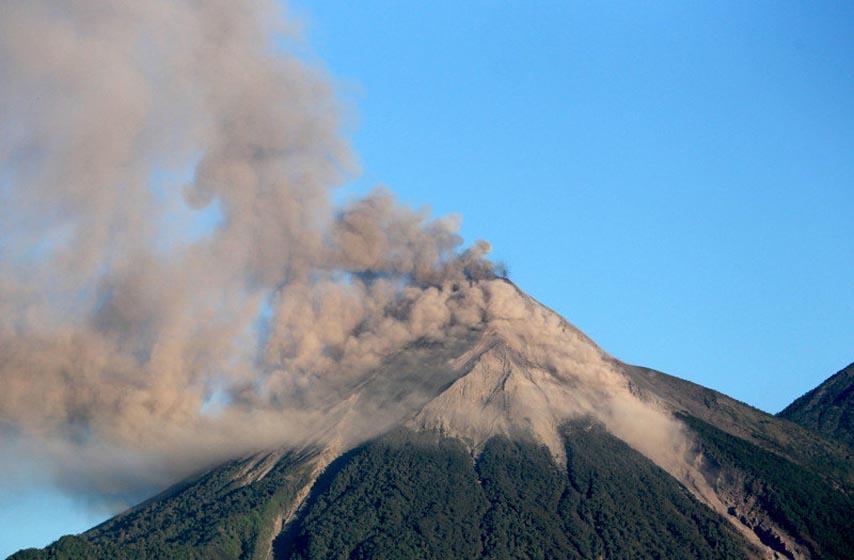 erupcija vulkana, Indonezija, Sinabung