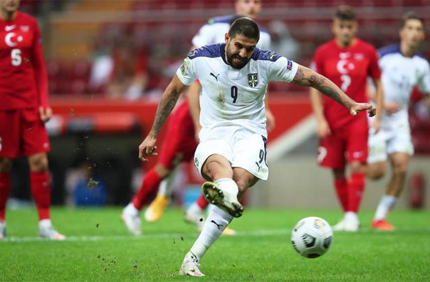 srbija irska, fudbal
