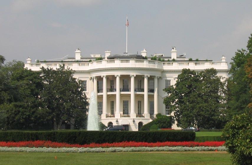 Tramp, pucnjava, Bela kuća, Vašington
