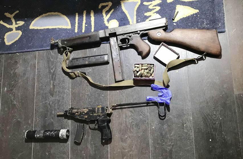 plandiste, policija, nedozvoljeno drzanje oruzja