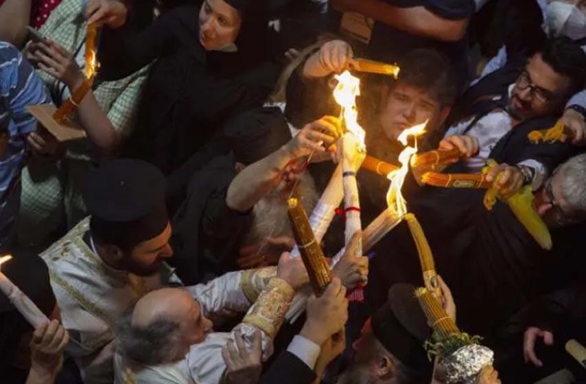 ceremonija blagodatnog ognja