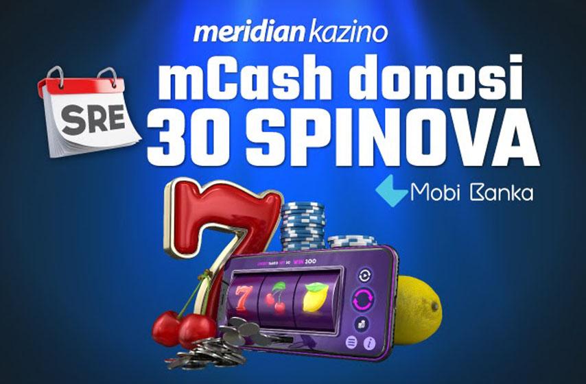 Meridian, Meridian kadionica, Meridian Kazino, besplatni spinovi