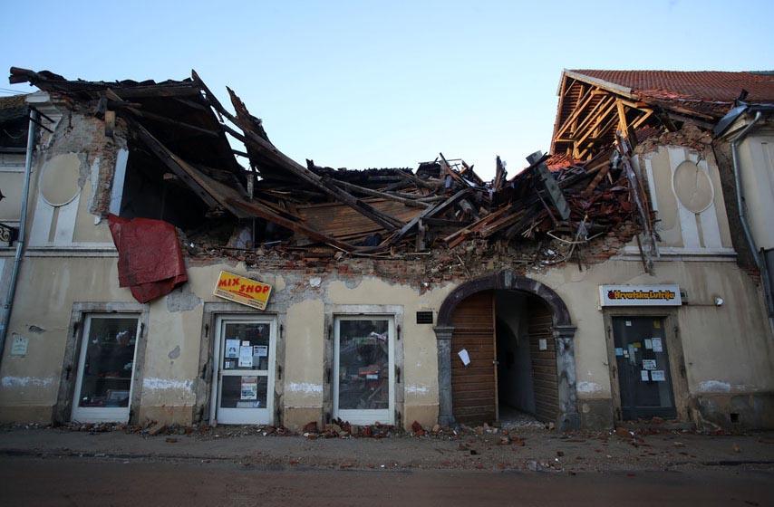 petrinja zemljotres, sisak zemljotres