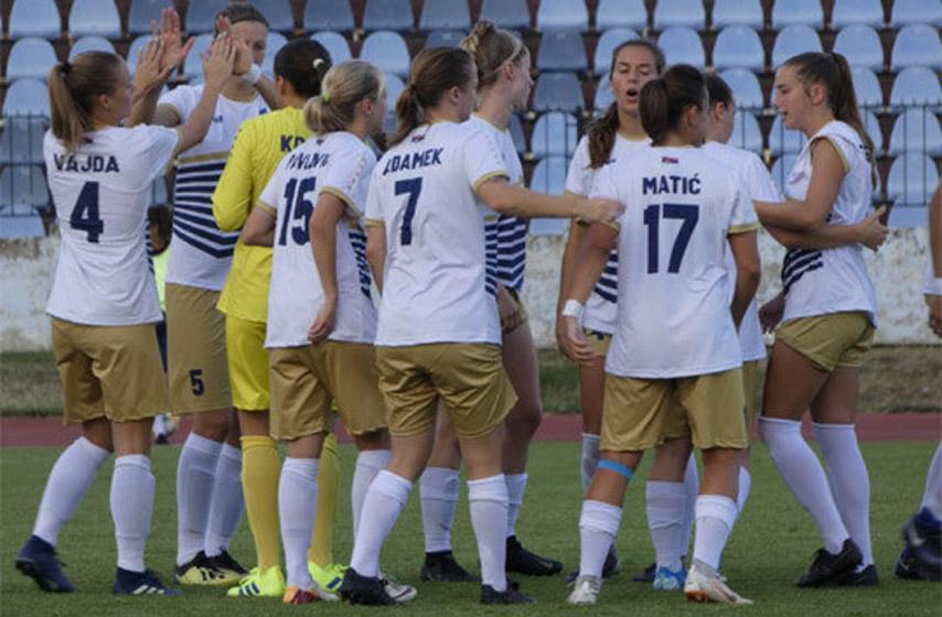 ženski fudbal, žfk spartak, subotica, kvalifikacije za LŠ