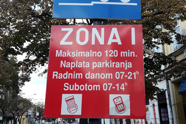 Parking zona 1 Pančevo